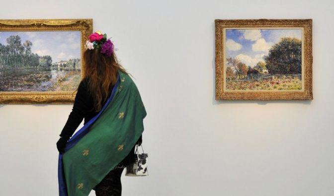 98 000 Besucher bei Sisley-Ausstellung in Wuppertal (Foto)