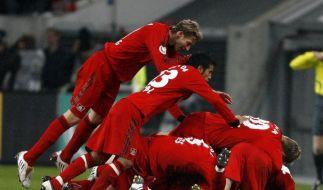 4:2: Bayer zerstört Bayerns erste Titelhoffnung (Foto)