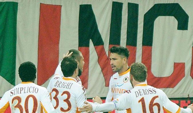 1:0 bei Milan: Rom macht Serie A wieder spannend (Foto)