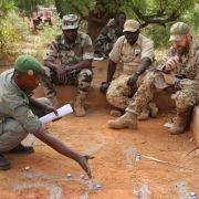 Deutsche Soldaten in Mali beschossen (Foto)