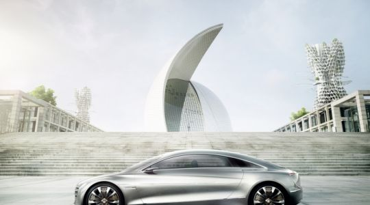 2025: Diese Luxuslimousine fährt mit Wasserstoff (Foto)