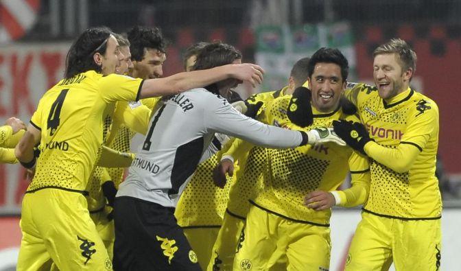 1. FC Nürnberg - Borussia Dortmund (Foto)