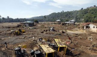 1000 Flutopfer auf Philippinen befürchtet (Foto)