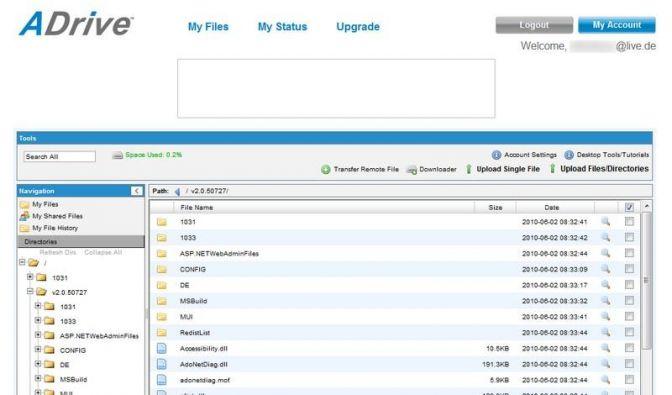 50 GByte Online-Speicher kostenlos nutzen (Foto)
