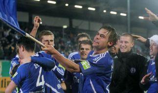 2:0 gegen Mainz: Pokal-Schreck Kiel im Viertelfinale (Foto)