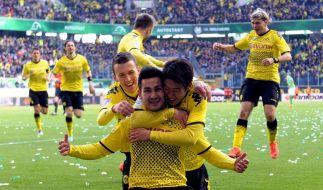 3:1 in Wolfsburg: Dortmund bereit für Bayern-Schlager (Foto)