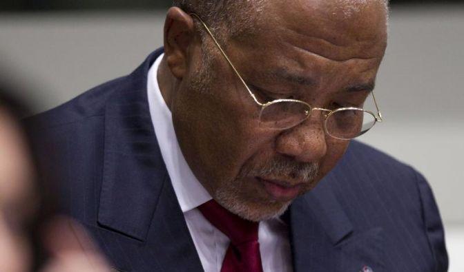 50 Jahre Gefängnis für Liberias Ex-Diktator Taylor (Foto)
