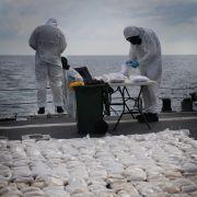 427 Kilo Heroin wurde sichergestellt. (Foto)