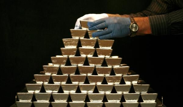 500 Kilo Silber (Foto)