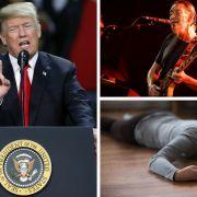 Donald Trump pleite // Popstar (66) kollabiert // Familie mit Pizzaschneider ausgelöscht (Foto)