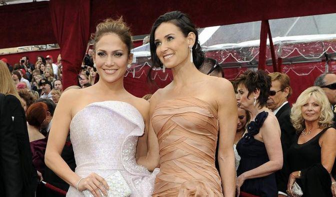 82. Oscar Verleihung - Jennifer Loüpez & Demi Moore (Foto)