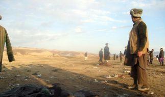 20 Tote bei Selbstmordanschlag in Afghanistan (Foto)