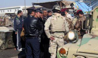 25 Tote bei Terroranschlägen gegen irakische Schiiten (Foto)