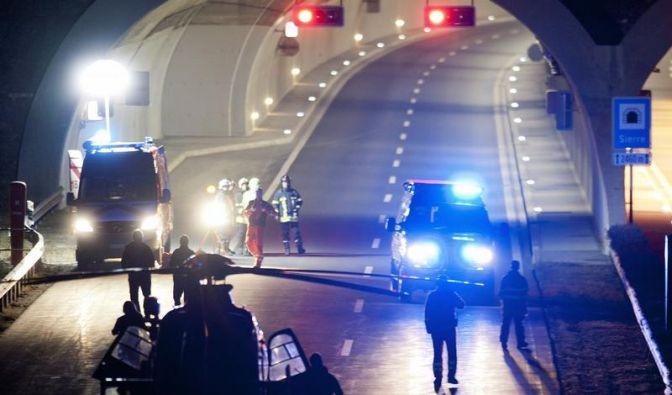 28 Tote bei Unfall eines Reisebusses in der Schweiz (Foto)