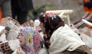 432 Tote nach Erdbeben - Baby gerettet (Foto)