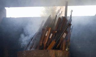 57.000 Waffen in Baden-Wuerttemberg abgegeben (Foto)