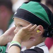 Beim Fußball gibt's was auf die Ohren (Foto)
