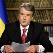 ... der Präsident der Ukraine Viktor Juschtschenko ...