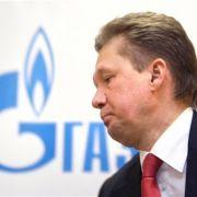 ... sein Gazprom-Chef Alexej Miller ...