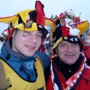 Patrick und Hansi aus Minden lieben Biathlon.