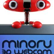 Nein, die Minoru3D ist kein Spielzeug, sondern eine 3D-Webcam. So werden Skype-Gesprächspartner dreidimensional.