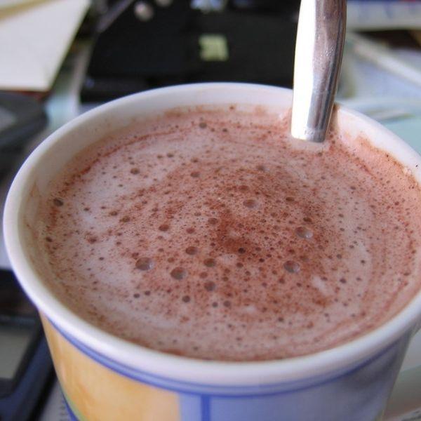 Kakao ist eine Faltenbremse (Foto)