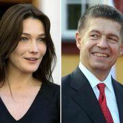 Carla Bruni gegen Joachim Sauer - die Gattin des französischen Präsidenten singt, der Mann der Bundeskanzlerin ist Professor. Es ist das wahre Duell: Schönheit gegen Intelligenz.