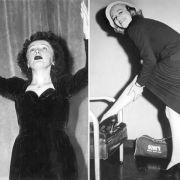 Edith Piaf gegen Hildegard Knef: Große Chansons, große Frauen.