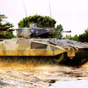 Der Schützenpanzer Puma ist eine deutsche Entwicklung unter Beteiligung von Rheinmetall.