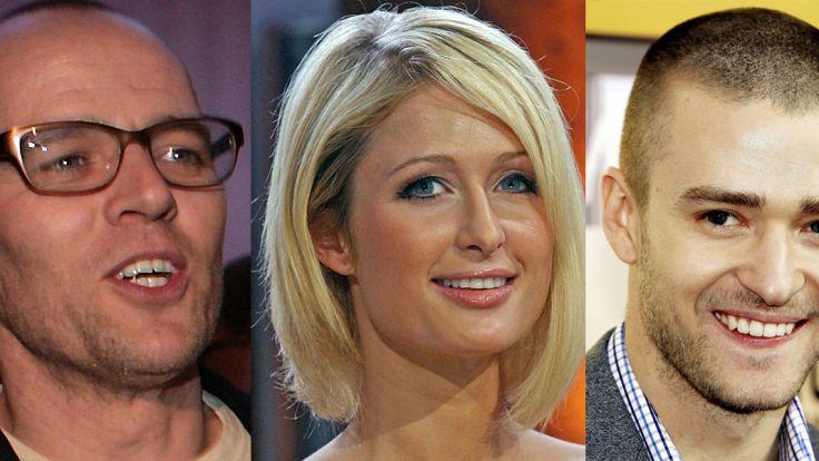 Wie grün sind Thomas D, Paris Hilton und Justin Timberlake (v.l.) wirklich? (Foto)
