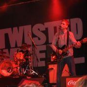 Eine Entdeckung im Coca-Cola-Zelt:Twisted Wheel.