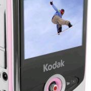Auch Kodak setzt auf Farbvielfalt. In Pink wirkt der zi6 eher kindlich.