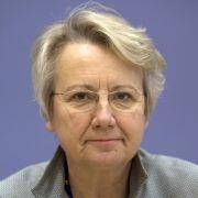 Bundesbildungsministerin Annette Schavan (CDU).