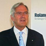 Wirtschaftsberater Roland Berger.