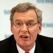 Siemens-Aufsichtsratsvorsitzender Gerhard Cromme.