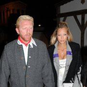 Da waren Boris Becker und Sandy Meyer-Wölden noch zusammen.