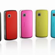 Auch ein schöner Rücken kann entzücken. Jugendliche Käufer sollen von den vielfarbigen Batteriedeckeln angezogen werden.