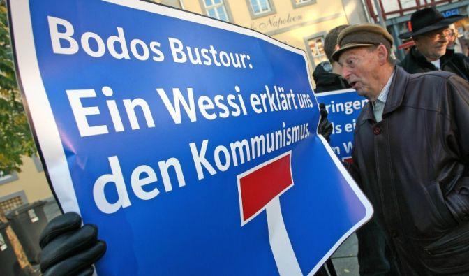In Thüringen hat es die Junge Union mit einer Anti-Wessi Kampagne gegen den Spitzenkandidaten der Linken versucht.