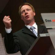 Thüringens SPD-Spitzenkandidat Christoph Matschie.