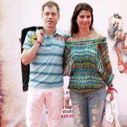 Comedian Michael Mittermeier und seine Ehefrau Gudrun