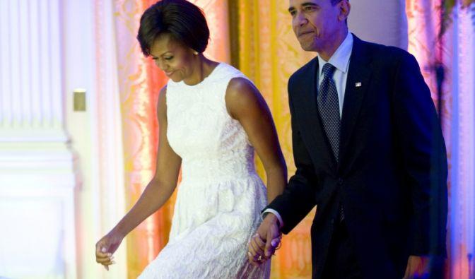 Michelle und Barack Obama (Foto)
