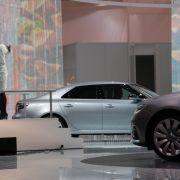 Der neue Saab 9-5 wurde auf der IAA in Frankfurt vorgestellt.