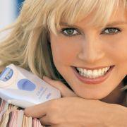 Supermodel Heidi Klum macht sich als Werbeträgerin für Epilierer gar keine Sorgen und glaubt:Das wird eine glatte Sache.