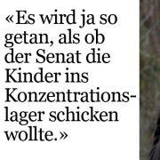 Der frühere Berliner Finanzsenator über die Zustände in den Kindertagesstätten der Stadt.