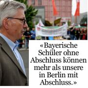 ... und über Berliner Abiturienten.