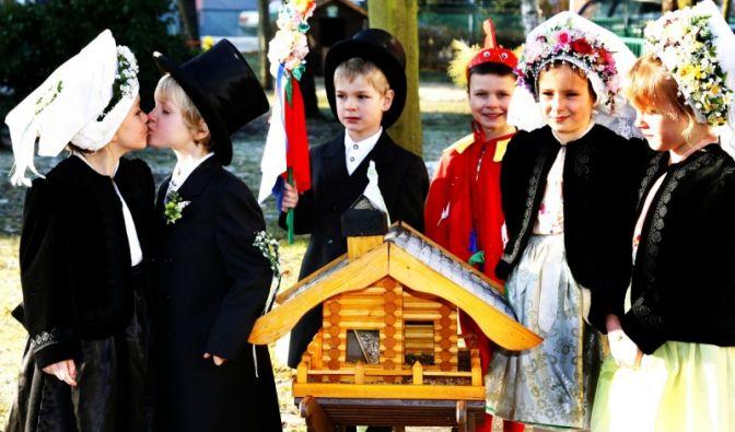 Sorbische Vogelhochzeit (Foto)