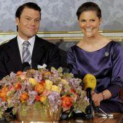 Victoria von Schweden und Daniel Westling