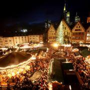 Die rund 200 Verkaufsstände des traditionsreichen Marktes in Frankfurt am Main