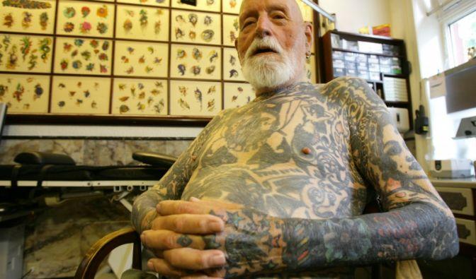 Der 96-jährige Albert Cornelissen (Foto)