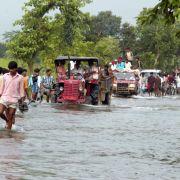 Indien: Flut und Dürre.